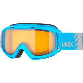 UVEX slider Kinderen, blue/lasergold lite